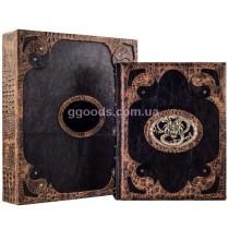 """Книга """"Мудрость Конфуция"""" в кожаной обложке"""