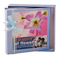 Фотоальбом Whispers of Flower blue 200 фото 10 на 15