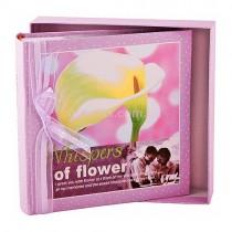 Фотоальбом Whispers of Flower violet 200 фото 10 на 15