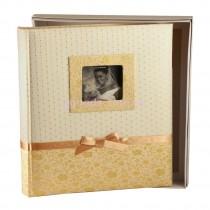 Фотоальбом Silvia Gold 100 страниц бордового цвета