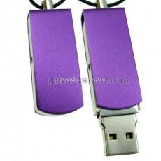 Флешка Железная фиолетовая