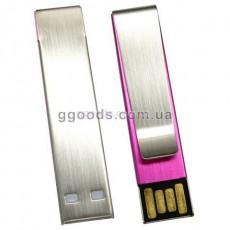 Флешка Зажим для галстука фиолетовый