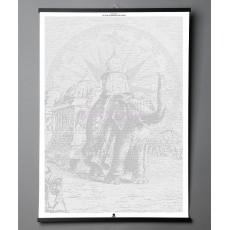 """Необычная книга Jules Verne """"Le tour du monde en 80 jours"""""""