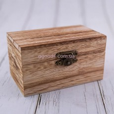 Деревянная коробочка для двух колец