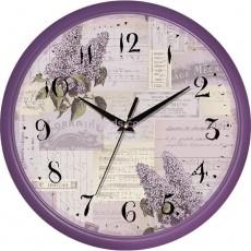 Часы настенные Сирень прованс