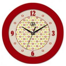 Часы Яблочки красные