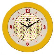 Часы Яблочки желтые