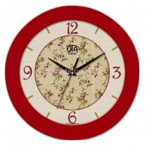 Часы Вишня красные
