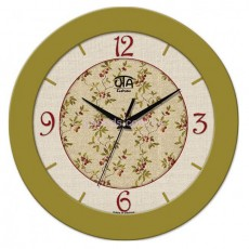 Часы Вишня оливковые