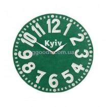 Часы настенные Киев зеленые