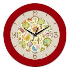Часы Рисунки красные