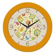 Часы Рисунки желтые