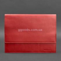 Женская папка для документов А4 красная