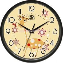"Часы настенные ""Любопытный жираф"" Black"