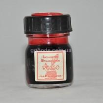 Чернила для перьевых ручек красные 30 мл La Kaligrafica