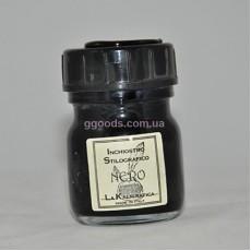 Чернила для перьевых ручек черные 30 мл La Kaligrafica