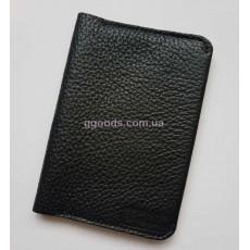 Кожаная обложка для паспорта Флотар
