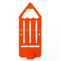 Вешалка настенная Карандаш Orange