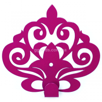 Вешалка настенная Ажур Пурпурный