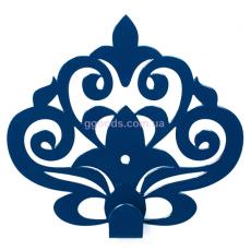 Вешалка настенная Ажур синяя