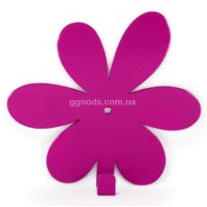 Вешалка настенная Flower Purple