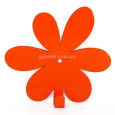 Вешалка настенная Flower Orange
