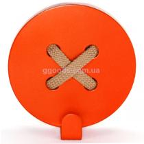 Вешалка настенная Пуговица Orange