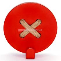 Вешалка настенная Пуговица Red
