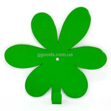 Вешалка настенная Flower Green