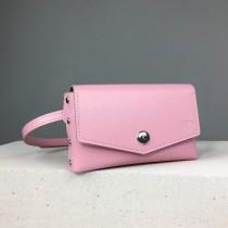 Поясная сумка розовая