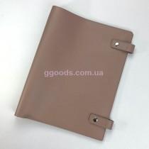 Папка-скоросшиватель светло-коричневая