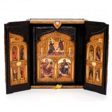Библия в коробе (иконостас-складень)