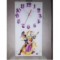 Часы стеклянные Рапунцель