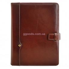 Ежедневник со съемной обложкой Дипломат коричневый