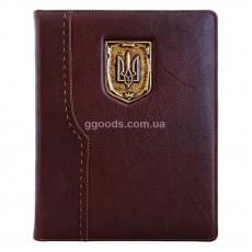 Еженедельник А4 со сменной обложкой Герб Украины