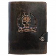 Ежедневник со сменным блоком Рокер коричневый
