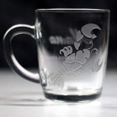 Чашка со знаком зодиака Рак