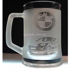 Пивной бокал BMW X6