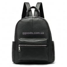 Рюкзак кожаный Классика черный