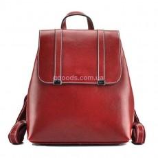 Женский рюкзак-сумка Грейс красный