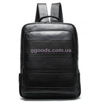 Рюкзак кожаный Винтаж черный