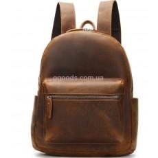 Кожаный рюкзак с эффектом старения