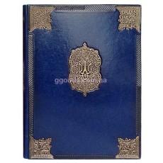 Папка Державная синяя (кожзам)