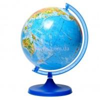 Глобус физический на украинском языке 220 мм