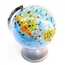 Глобус зоологический 220 мм