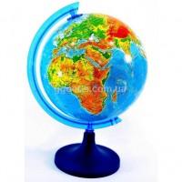 Глобус физический на русском языке 250 мм