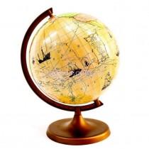 Глобус с маршрутами землепроходцами 220 мм