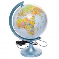 Глобус с подсветкой на английском языке 250 мм