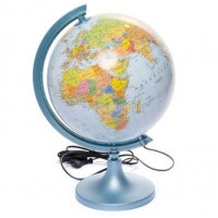 Глобус с подсветкой на украинском языке 250 мм