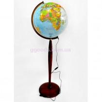 Глобус напольный с подсветкой 320 мм